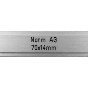Letterbox Plate Norm AG -...