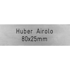 Letterbox Plate Huber...