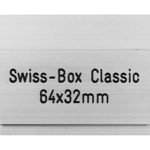 Letterbox Plate Swiss-Box...