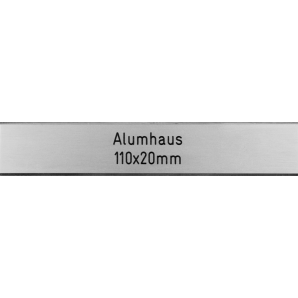 Letterbox Plate Alumhaus...