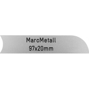 Letterbox Plate MarcMetall...