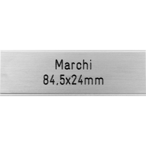 Letterbox Plate Marchi -...